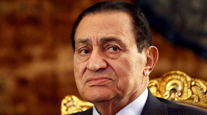 مصر کے سابق صدر حسنی مبارک 91 سال کی عمر میں انتقال کرگئے