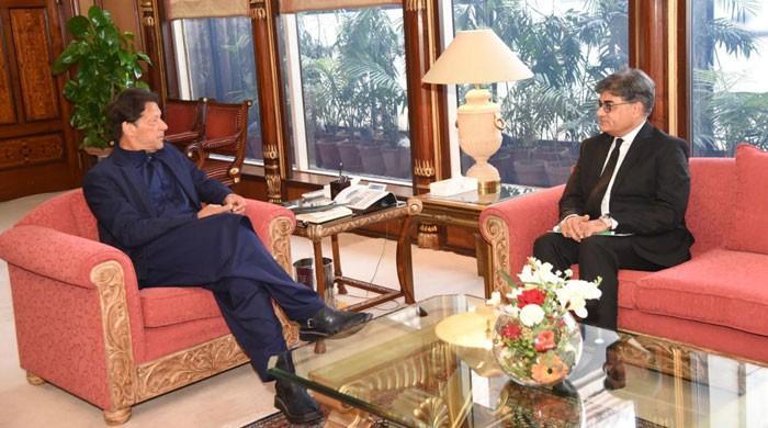 وزیراعظم عمران خان سے اٹارنی جنرل خالد جاوید کی ملاقات