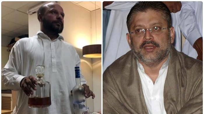 پی پی رہنما شرجیل میمن پر شراب برآمدگی کیس میں فردِ جرم عائد