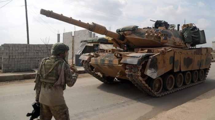 ادلب میں شامی فضائیہ کی کارروائی، 33 ترک فوجی ہلاک