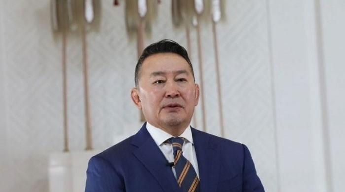 چین کا دورہ کرنے والے منگولین صدر کو قرنطینہ میں رکھ دیا گیا