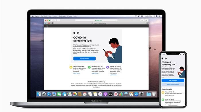 ایپل نے مصدقہ معلومات کیلیےکووڈ-19 ایپ اور سائٹ لانچ کردی