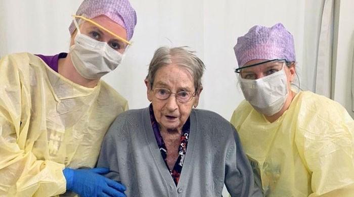 ہسپانوی فلو کے دور میں پیدا ہونے والی 101 سالہ خاتون نے کورونا کو شکست دے دی
