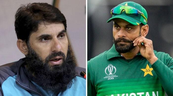 پاکستان کے معمر ترین ٹیسٹ کپتان مصباح الحق کو حفیظ کی بڑھتی عمر پر فکر لاحق!