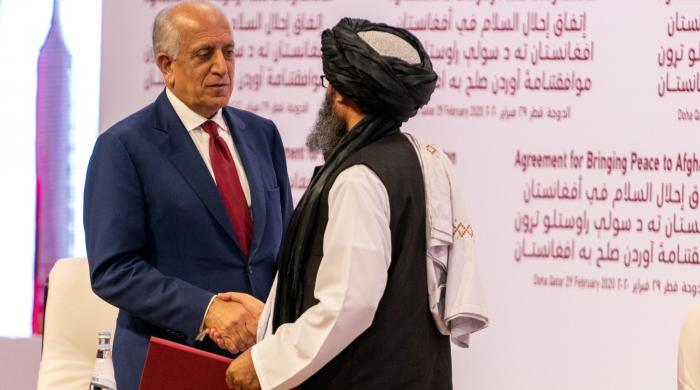 'امریکا طالبان امن معاہدہ ٹوٹنے کے قریب'