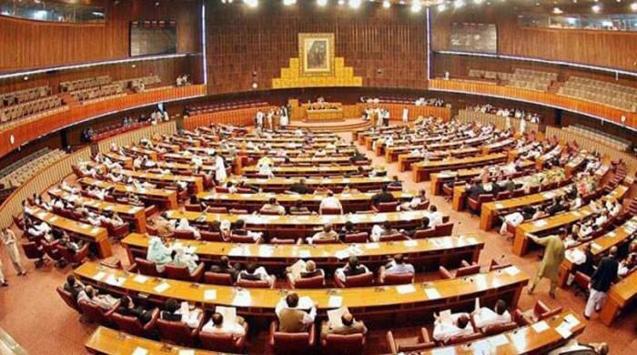 ن لیگ اور ایم ایم اے نے  قومی اسمبلی کے ورچوئل اجلاس بلانے کی مخالفت کردی