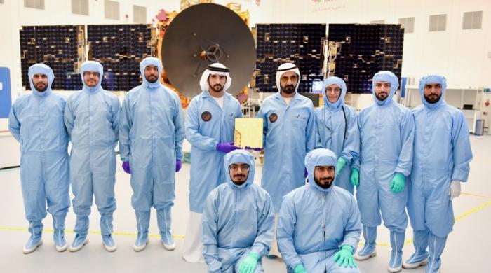 متحدہ عرب امارات کا مریخ  پر پہلا مشن بھیجنے کا اعلان