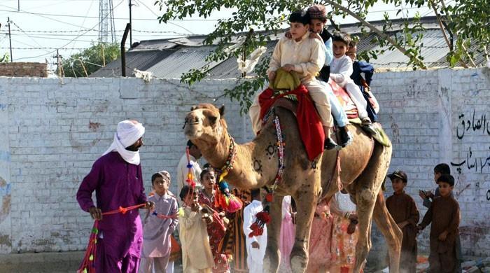 کوئٹہ میں پابندی کے باوجود عید میلے سج گئے