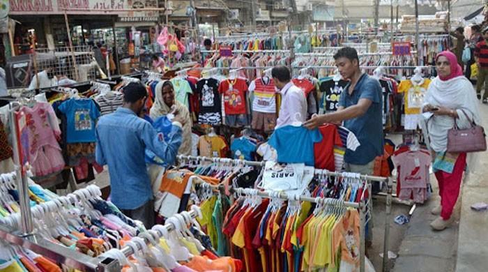 عیدپر10ارب روپے سے بھی کم کا کاروبارہوا: آل کراچی تاجراتحاد