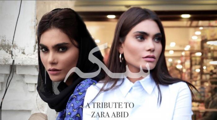 طیارے حادثے کا شکار زارا عابد کی پہلی اور آخری مختصر فلم
