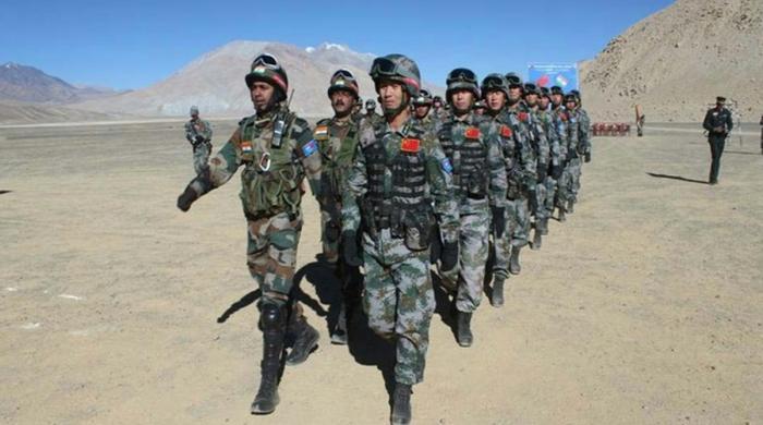 متنازع علاقے میں داخل ہونے پر چینی فوجیوں  نے بھارتی اہلکاروں کی درگت بنا دی