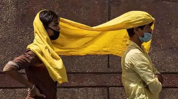 بھارت کو کورونا وائرس سمیت ہیٹ ویو اور ٹڈی دل کی یلغار کا بھی سامنا