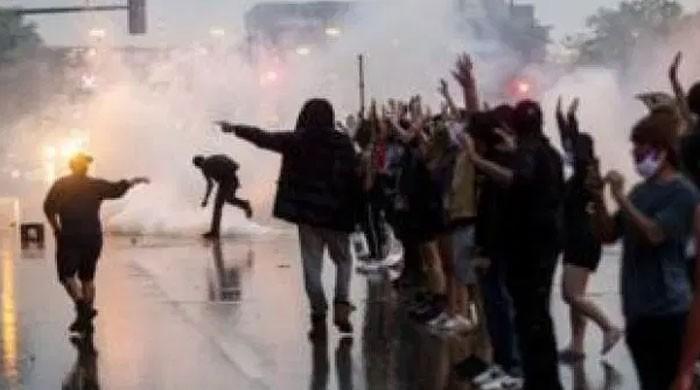 امریکا میں پولیس حراست میں سیاہ فام شخص کی ہلاکت کے بعد ہنگامے