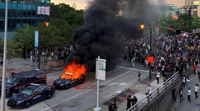 پولیس حراست میں سیاہ فام شخص کی ہلاکت کیخلاف احتجاج پورے امریکا میں پھیل گیا