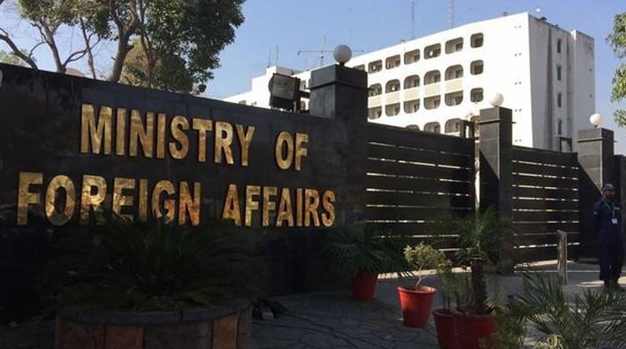 بھارت میں پاکستانی ہائی کمیشن کے 2 اہلکاروں کو ناپسندیدہ قرار دینے پر احتجاج