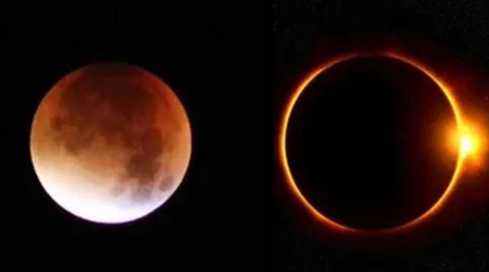 رواں ماہ چاند اور سورج دونوں کو گرہن لگے گا