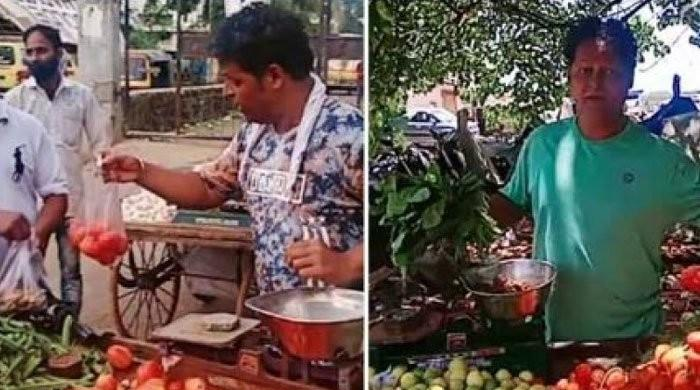 کیا کورونا لاک ڈاؤن نے بھارتی اداکار کو سبزی بیچنے پر مجبور کردیا؟