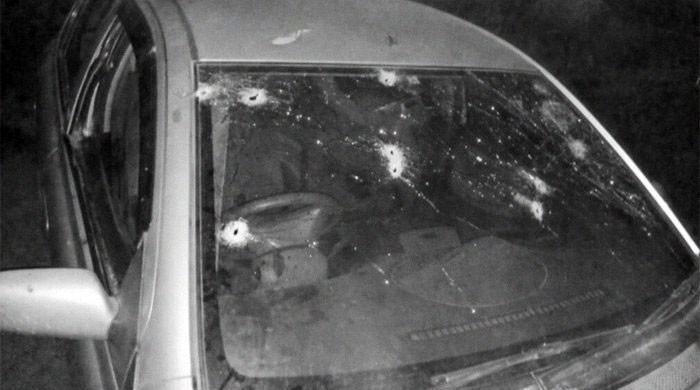 چیئرمین نیب ویڈیو اسکینڈل کی مرکزی کردار طیبہ گل کی گاڑی پر فائرنگ