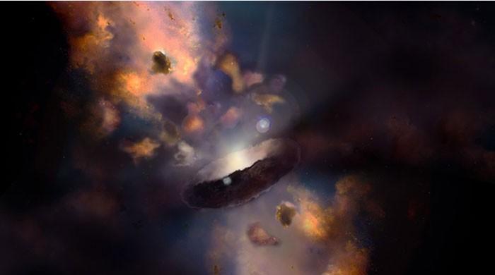 خلا میں موجود ایک 'بلیک ہول' روزانہ  سورج جتنا بڑا ہو رہا ہے، ماہرین
