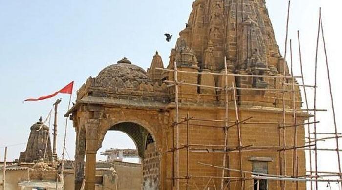 اسلام آباد میں مندر کی تعمیر کا کام روک دیا گیا