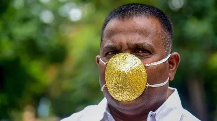 کیا سونے کا ماسک پہننے سے کورونا وائرس قریب نہیں آتا؟