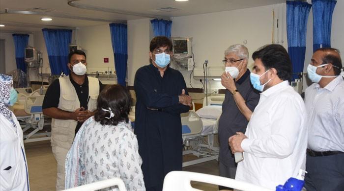 وزیراعلیٰ سندھ نے کراچی میں انفیکشن ڈیزیز اسپتال کا افتتاح کردیا