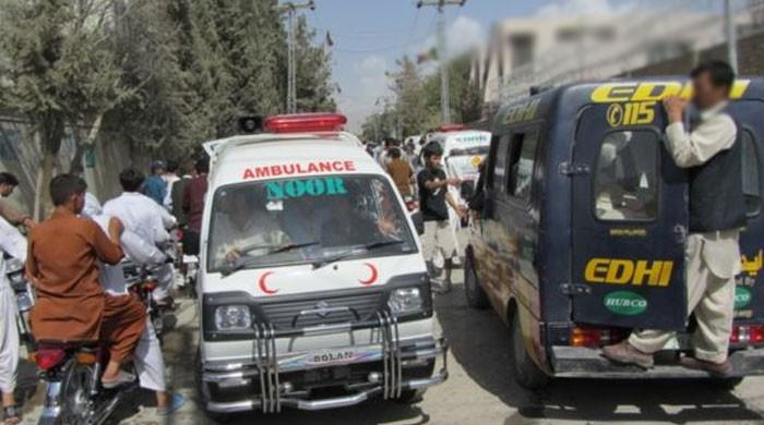 چمن : زیر زمین ٹینک کی صفائی کے دوران گیس بھرنے سے 7 افراد جاں بحق