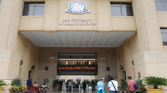 سندھ حکومت کا ڈاؤیونیورسٹی کے عملے کی پوری تنخواہ ادا کرنے کا اعلان