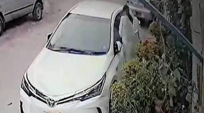 اسلام آباد سے زرعی ترقیاتی بینک کے صدر کی گاڑی چوری