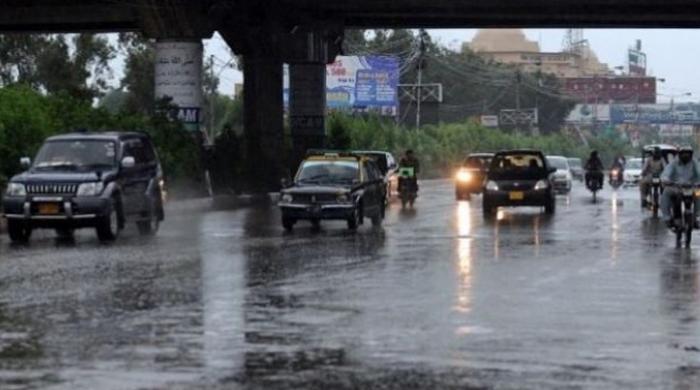 کراچی میں آئندہ 24 گھنٹوں کے دوران ہلکی بارش کا امکان