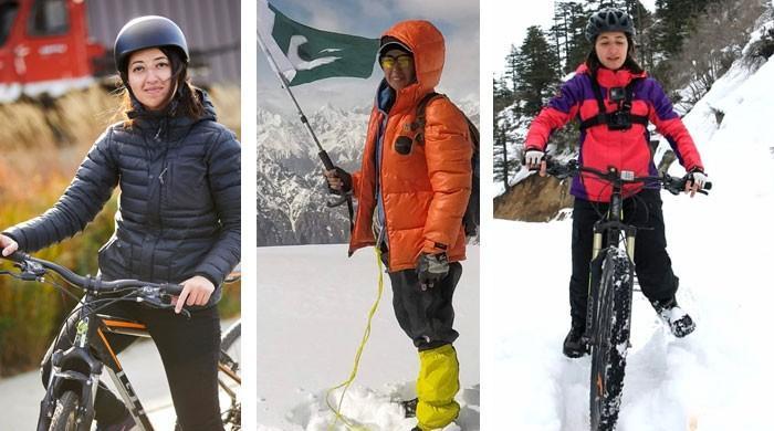 خطروں کی کھلاڑی پاکستانی سائیکلسٹ ثمر خان کی کہانی