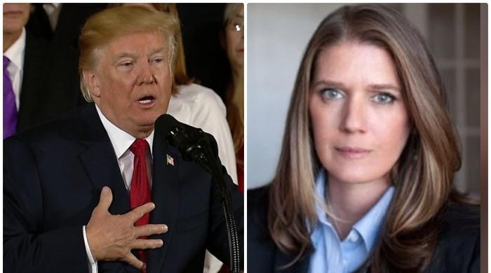 امریکی صدر ٹرمپ کی بھتیجی کا بھی چچا سے مستعفیٰ ہونے کا مطالبہ
