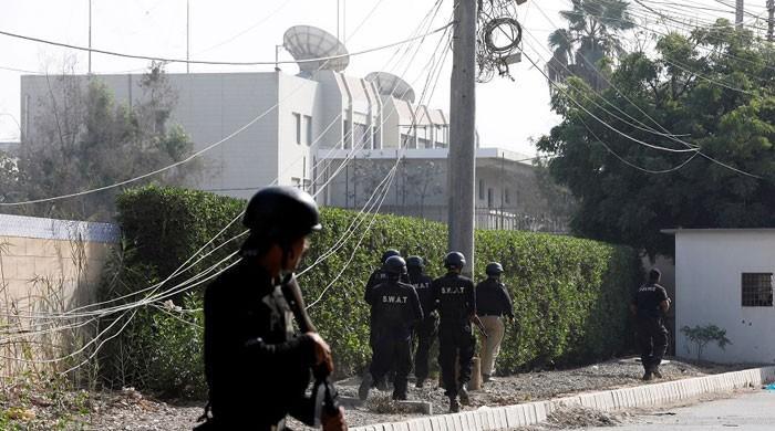 کراچی میں دہشت گردی کے ممکنہ خدشات، قونصل خانوں کے اطراف سیکیورٹی ہائی الرٹ