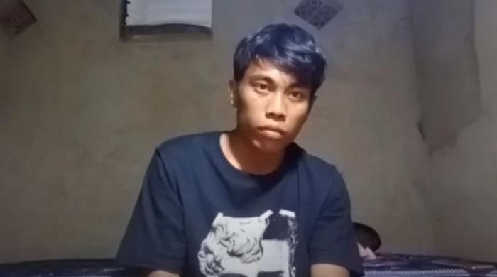 2 گھنٹے تک کیمرے کے سامنے ساکن بیٹھنے والے شخص کی ویڈیو وائرل