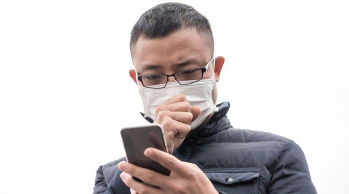 کھانسی سے کورونا وائرس کی تشخیص کرنےوالی موبائل ایپ تیار