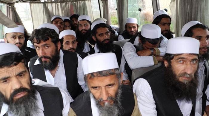 افغان حکومت نے عیدالاضحیٰ پر مزید 317 طالبان قیدی رہا کر دیے