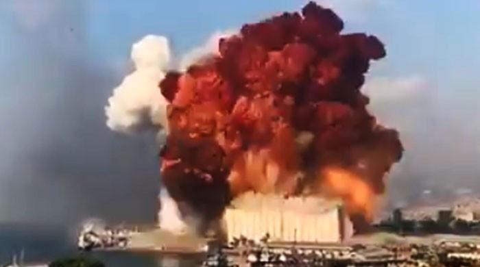 لبنان کا دارالحکومت بیروت زوردار دھماکے سے لرز اٹھا، 10 افراد ہلاک