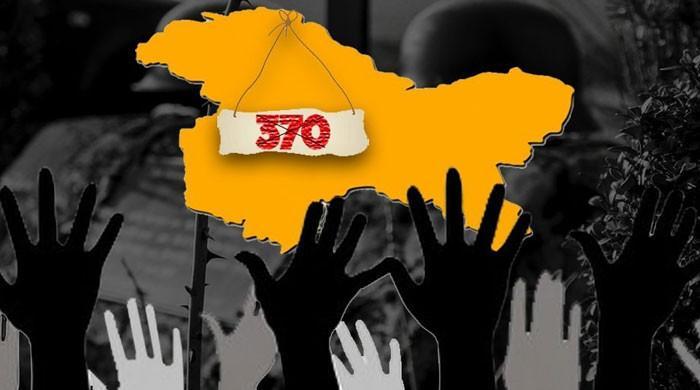 بھارتی حکومت نے مقبوضہ کشمیر کی خصوصی حیثیت کے خاتمے کیلئے کیا قدم اٹھایا؟