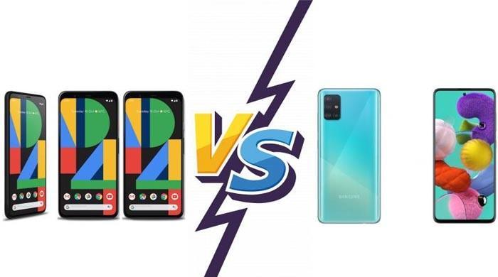 پکسل 4a بمقابلہ گلیکسی A51 : قیمت اور خصوصیات کس اسمارٹ فون کی بہتر؟