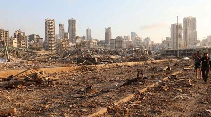 بیروت دھماکے میں پاکستانی بچے کے جاں بحق اور 4 کے زخمی ہونے کی تصدیق