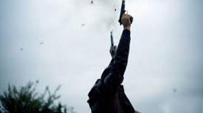 اسلام آباد کے ریڈ زون میں ایک شخص کی کھلے عام ہوائی فائرنگ