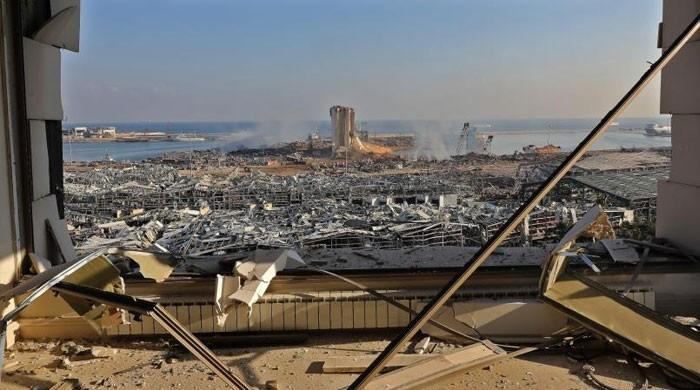 فرانس، برازیل اور اردن کا امدادی کارکن اور سامان بیروت بھیجنے کا اعلان