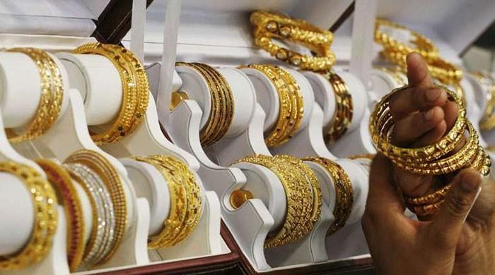 ملک میں فی تولہ سونے کی قیمت نئی بلند ترین سطح پر پہنچ گئی