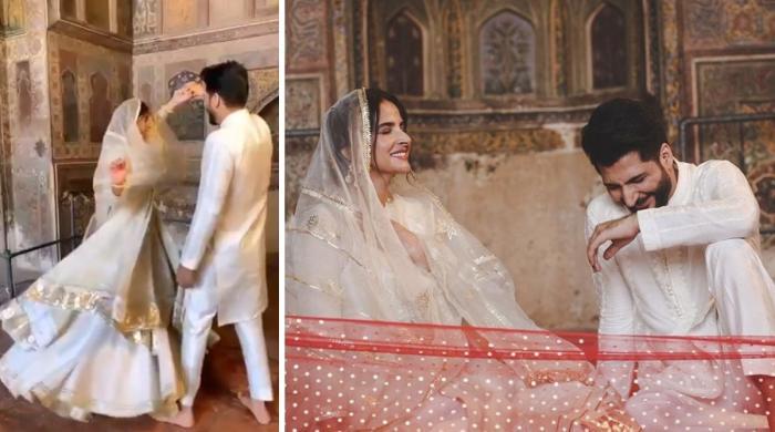 مسجد وزیر خان میں رقص کا معاملہ، مسجد منیجر اشتیاق احمد معطل