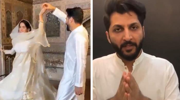 مسجد میں گانے کی شوٹنگ: اللہ سے توبہ اور لوگوں سے معافی مانگتا ہوں: بلال سعید