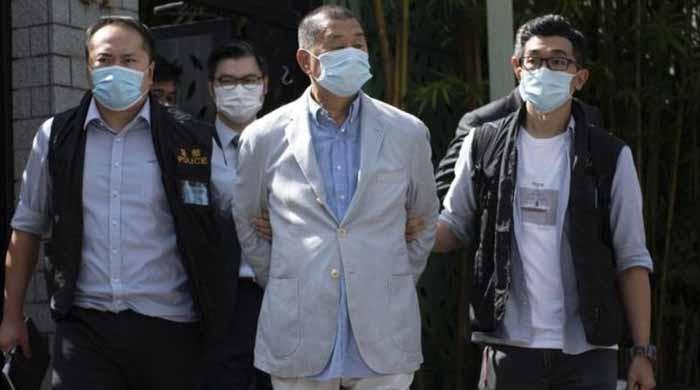 چینی حکومت نے ہانگ کانگ کے میڈیا ٹائیکون کو گرفتار کرلیا