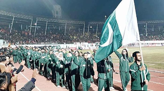 ڈوپ ٹیسٹ مثبت آنے پر پاکستان کے 3 ایتھلیٹس پر 4، 4 برس کی پابندی عائد