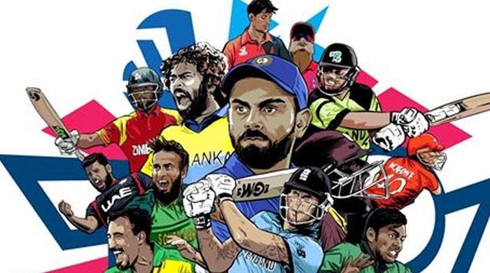 ٹی ٹونٹی ورلڈ کپ کے خاکے سے  پاکستانی کرکٹر غائب، شائقین ناراض