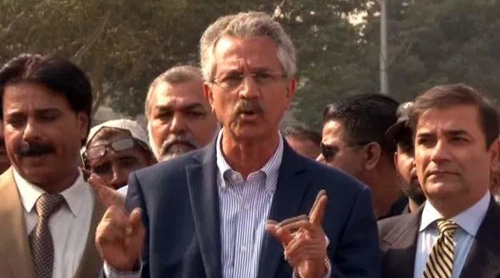 'عدلیہ کہتی ہے کراچی کی جان چھوڑو مگر مجھے عوام نے ووٹ دیا، جیل سے الیکشن جیتا ہوں'