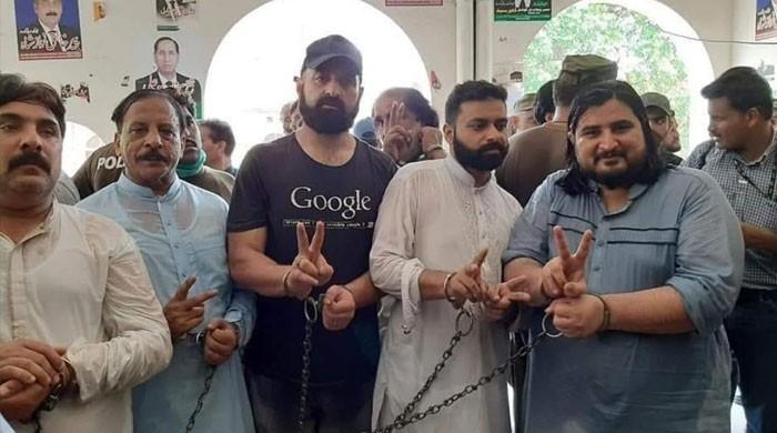 نیب آفس کے باہر سے گرفتار لیگی کارکنان ضمانت پر جیل سے رہا